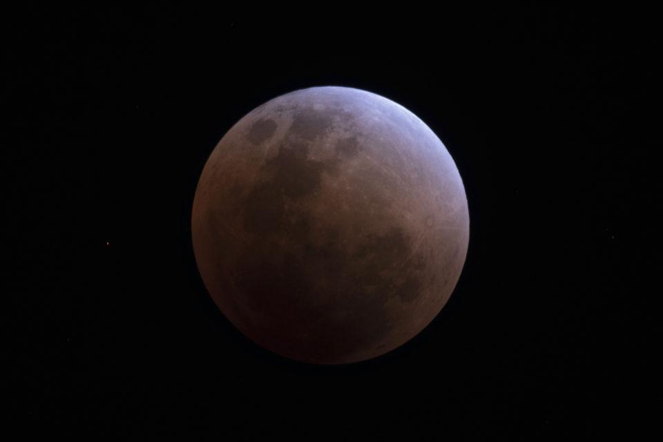 【皆既月食】 2018/01/31 21:51:24 皆既開始